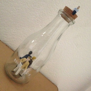 """1000 litros de inclusión """"Bottled up resentments"""""""